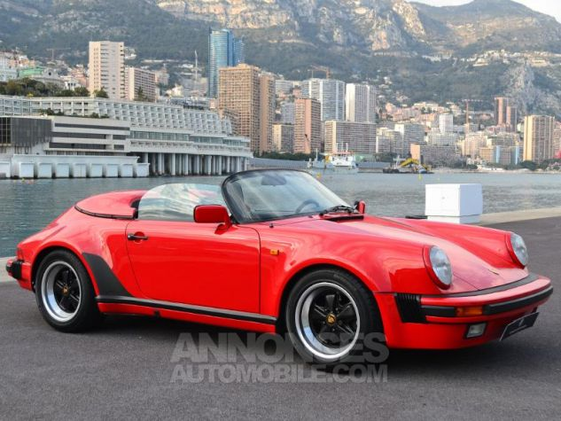 Porsche 911 Speedster 911 turbo look Rouge Occasion - 2