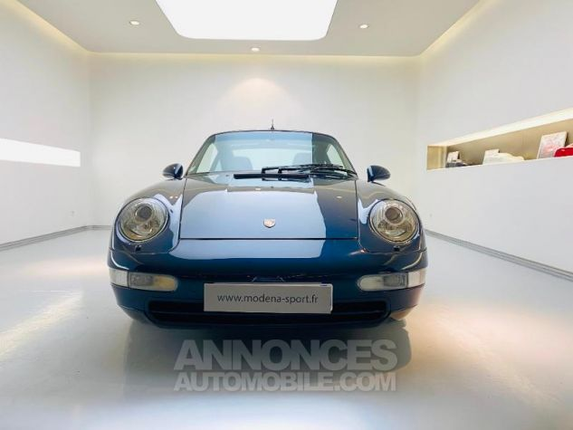 Porsche 911 Targa 285ch Carrera BV6 bleu nuit Occasion - 5