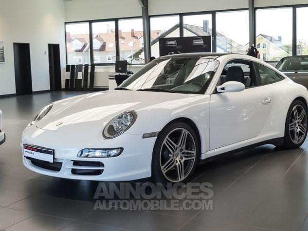Porsche 911 Targa 997 4 TIPTRONIC S BLANC Occasion - 0