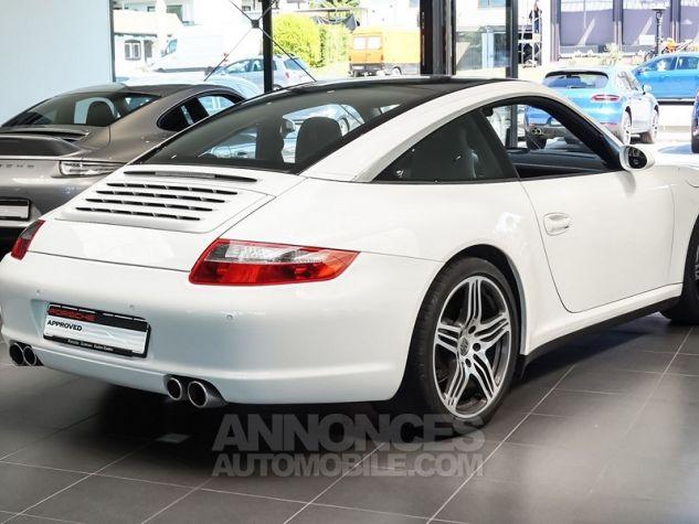 Porsche 911 Targa 997 4 TIPTRONIC S BLANC Occasion - 2