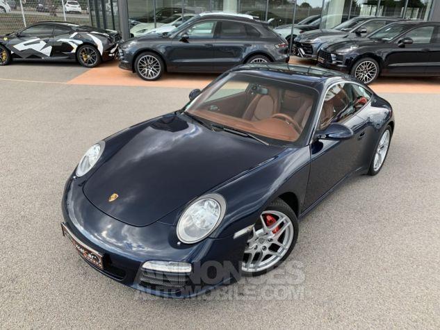 Porsche 911 Targa 997 TARGA 4S PDK BLEU NUIT MÉTALLISÉE Occasion - 3