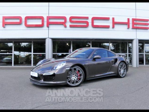 Porsche 911 Turbo G0-Brun Anthracite métallisé Occasion - 0