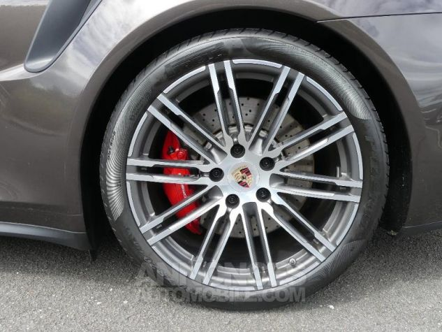 Porsche 911 Turbo G0-Brun Anthracite métallisé Occasion - 4
