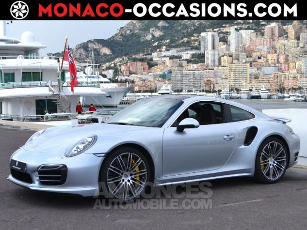 Porsche 911 Turbo S Gris Clair Occasion - 0