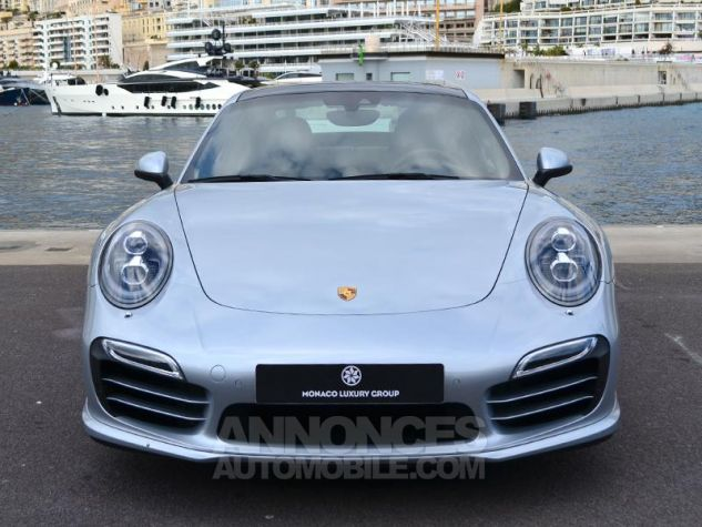 Porsche 911 Turbo S Gris Clair Occasion - 1