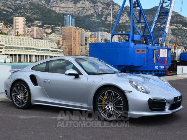 Porsche 911 Turbo S Gris Clair Occasion - 2