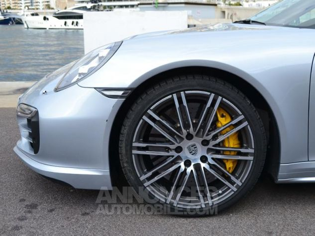 Porsche 911 Turbo S Gris Clair Occasion - 6