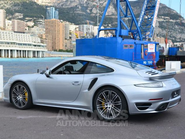 Porsche 911 Turbo S Gris Clair Occasion - 8