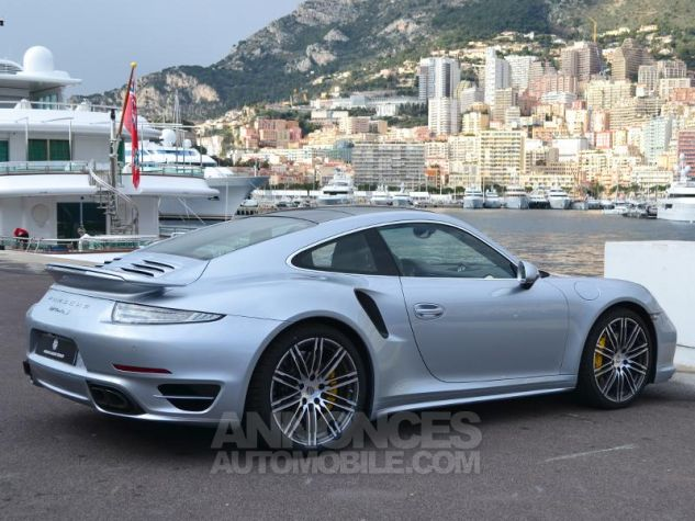Porsche 911 Turbo S Gris Clair Occasion - 10