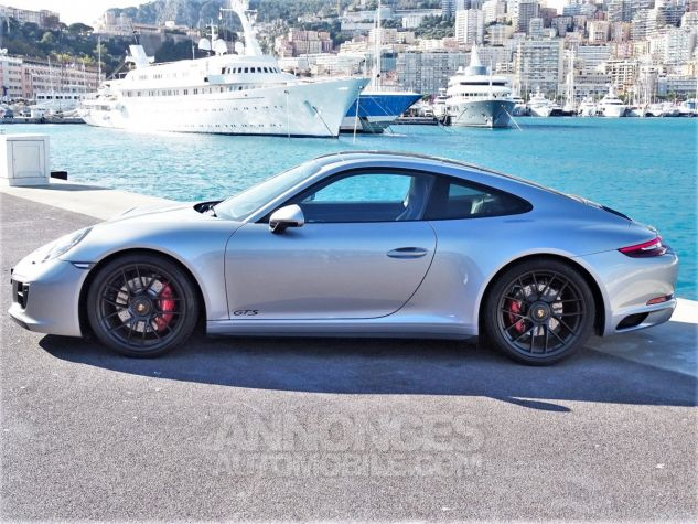 Porsche 911 TYPE 991 CARRERA 4 GTS PDK 450 CV - MONACO Argent Gt Métal Leasing - 12