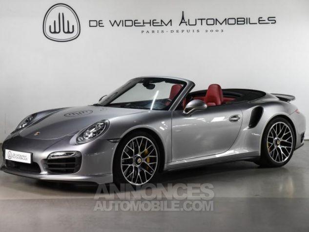 Porsche 911 TYPE 991 TURBO S CABRIOLET 3.8 560 Gris Occasion - 0