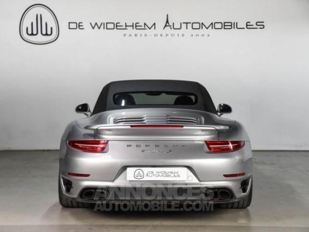 Porsche 911 TYPE 991 TURBO S CABRIOLET 3.8 560 Gris Occasion - 4