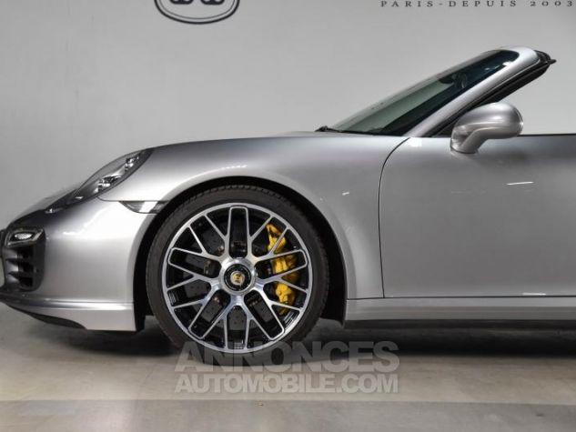 Porsche 911 TYPE 991 TURBO S CABRIOLET 3.8 560 Gris Occasion - 16