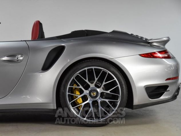 Porsche 911 TYPE 991 TURBO S CABRIOLET 3.8 560 Gris Occasion - 17