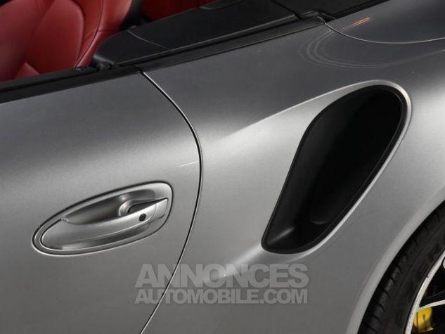 Porsche 911 TYPE 991 TURBO S CABRIOLET 3.8 560 Gris Occasion - 18