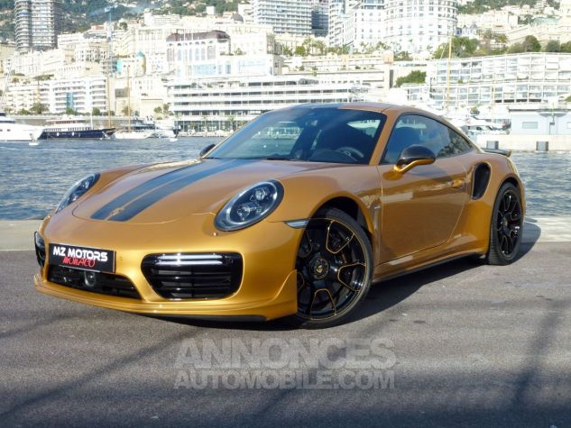 Porsche 911 TYPE 991 TURBO S EXCLUSIVE SERIES Or Jaune métallisé Occasion - 0