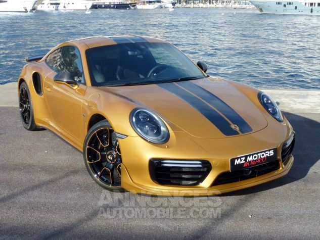 Porsche 911 TYPE 991 TURBO S EXCLUSIVE SERIES Or Jaune métallisé Occasion - 4
