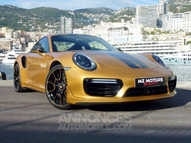 Porsche 911 TYPE 991 TURBO S EXCLUSIVE SERIES Or Jaune métallisé Occasion - 5