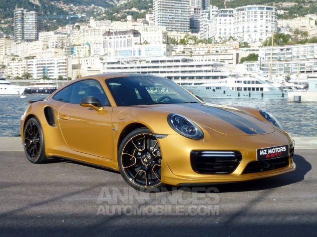 Porsche 911 TYPE 991 TURBO S EXCLUSIVE SERIES Or Jaune métallisé Occasion - 6