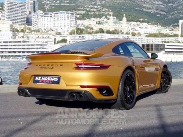 Porsche 911 TYPE 991 TURBO S EXCLUSIVE SERIES Or Jaune métallisé Occasion - 8