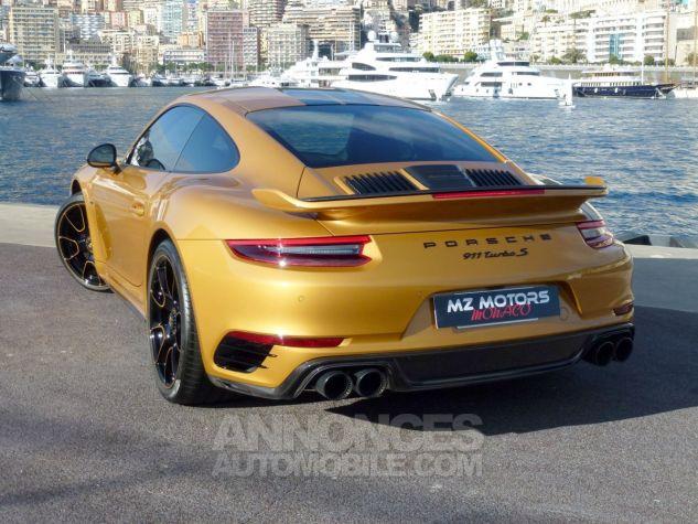 Porsche 911 TYPE 991 TURBO S EXCLUSIVE SERIES Or Jaune métallisé Occasion - 9