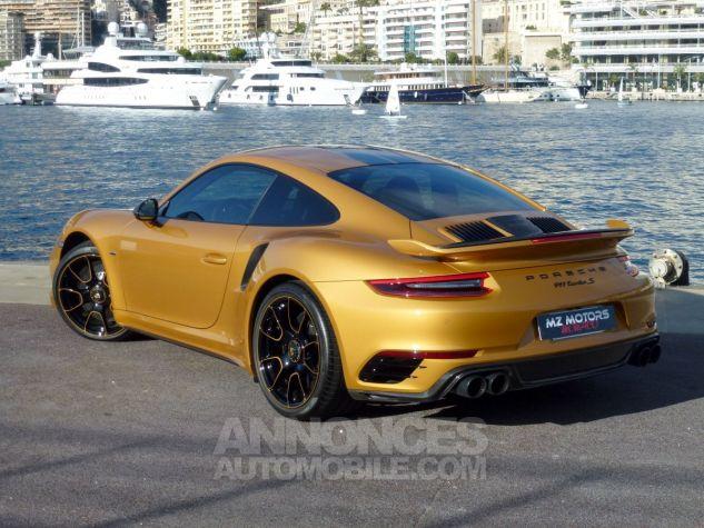 Porsche 911 TYPE 991 TURBO S EXCLUSIVE SERIES Or Jaune métallisé Occasion - 10