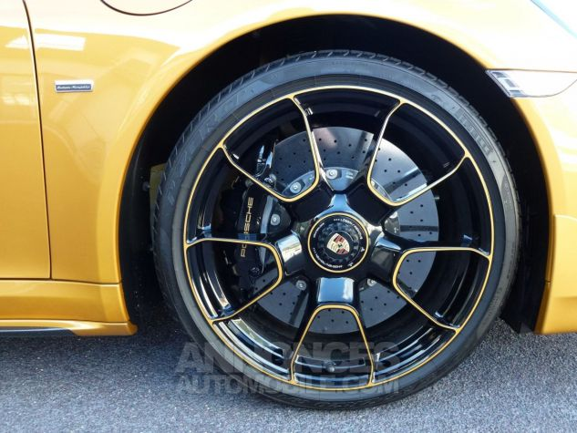 Porsche 911 TYPE 991 TURBO S EXCLUSIVE SERIES Or Jaune métallisé Occasion - 13