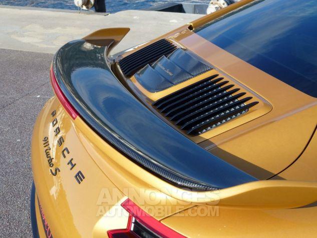 Porsche 911 TYPE 991 TURBO S EXCLUSIVE SERIES Or Jaune métallisé Occasion - 20