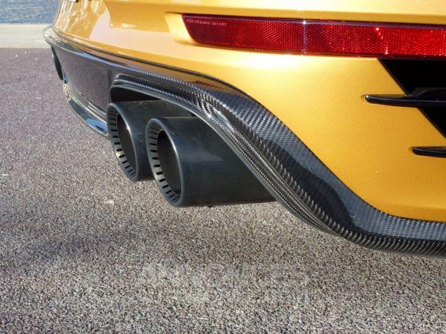 Porsche 911 TYPE 991 TURBO S EXCLUSIVE SERIES Or Jaune métallisé Occasion - 19