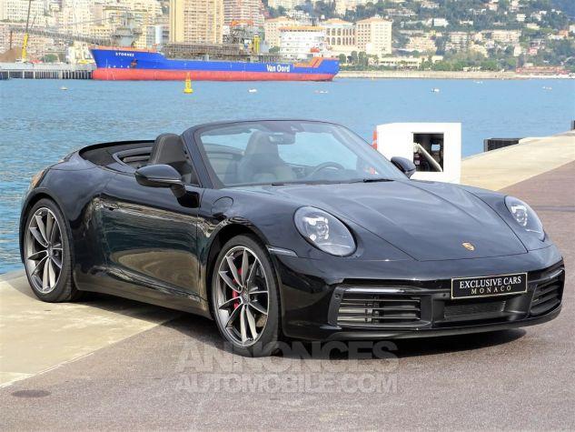 Porsche 911 TYPE 992 CARRERA 4S CABRIOLET PDK 450 CV NEUF !! - MONACO Noir Leasing - 2