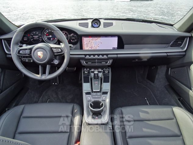 Porsche 911 TYPE 992 CARRERA 4S CABRIOLET PDK 450 CV NEUF !! - MONACO Noir Leasing - 7