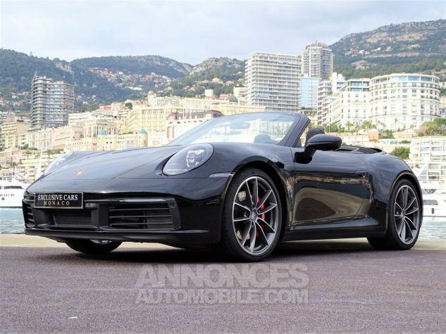 Porsche 911 TYPE 992 CARRERA 4S CABRIOLET PDK 450 CV NEUF !! - MONACO Noir Leasing - 14