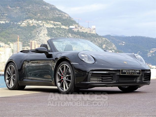 Porsche 911 TYPE 992 CARRERA 4S CABRIOLET PDK 450 CV NEUF !! - MONACO Noir Leasing - 15