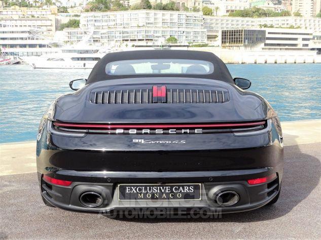 Porsche 911 TYPE 992 CARRERA 4S CABRIOLET PDK 450 CV NEUF !! - MONACO Noir Leasing - 17
