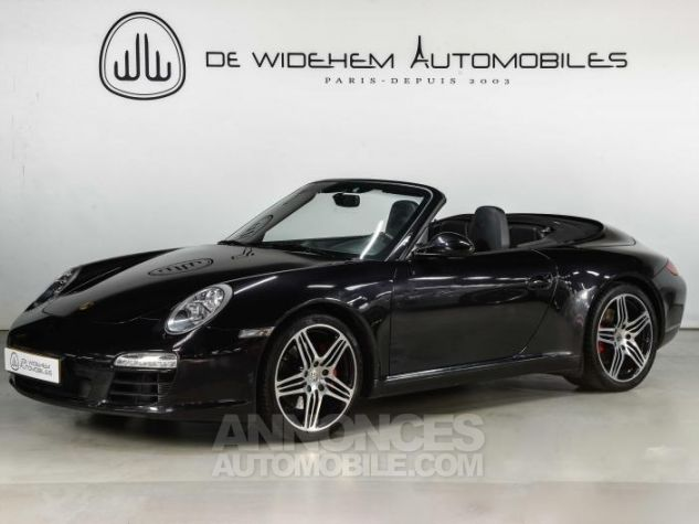 Porsche 911 TYPE 997 S 3.8 385 CABRIOLET Noir Occasion - 0