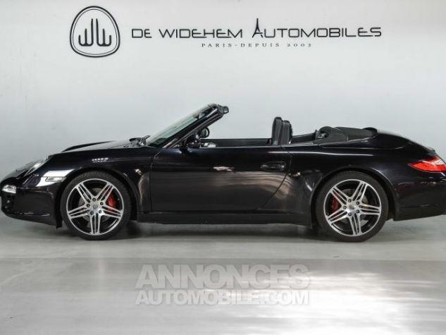 Porsche 911 TYPE 997 S 3.8 385 CABRIOLET Noir Occasion - 1