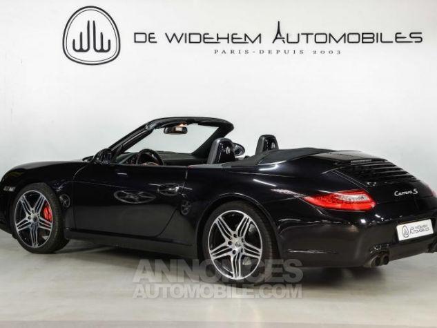 Porsche 911 TYPE 997 S 3.8 385 CABRIOLET Noir Occasion - 2
