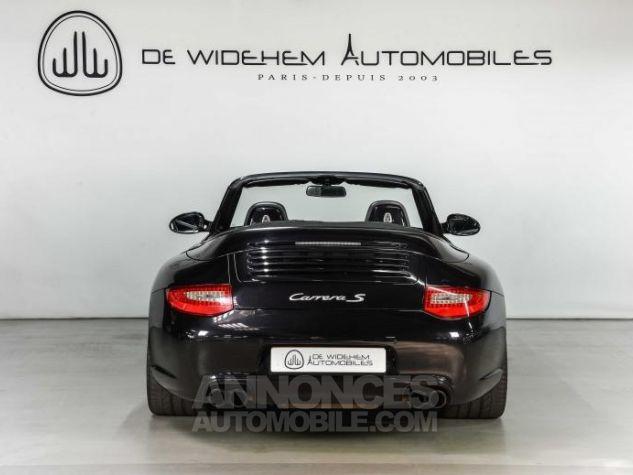 Porsche 911 TYPE 997 S 3.8 385 CABRIOLET Noir Occasion - 4