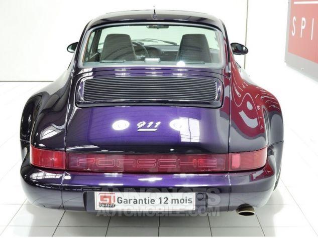 Porsche 964 Carrera 4 Jubilé Viola Metallic L3AE Occasion - 4