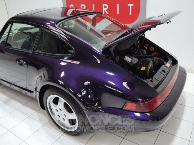 Porsche 964 Carrera 4 Jubilé Viola Metallic L3AE Occasion - 39