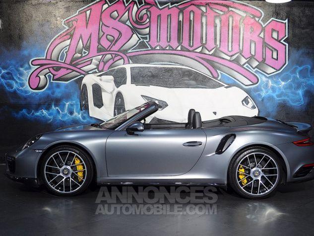 Porsche 991 (2) TURBO S CAB 580 GRIS MAT Occasion - 3
