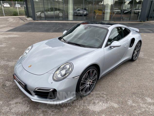 Porsche 991 3.8L TURBO 520 PDK ARGENT MÉTAL Occasion - 2