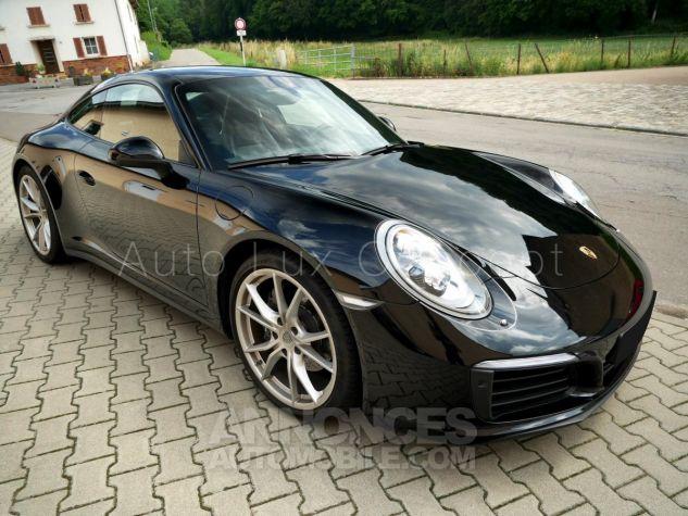 Porsche 991 911 Carrera 4 PDK, Pack Sport Chrono, Phares LED, Caméra, Échappement sport Noir Occasion - 2