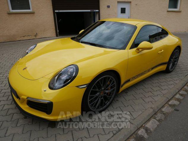 Porsche 991 911 Carrera S, Chrono, LED, Carbone, PDCC, PCCB Jaune Racing Occasion - 1
