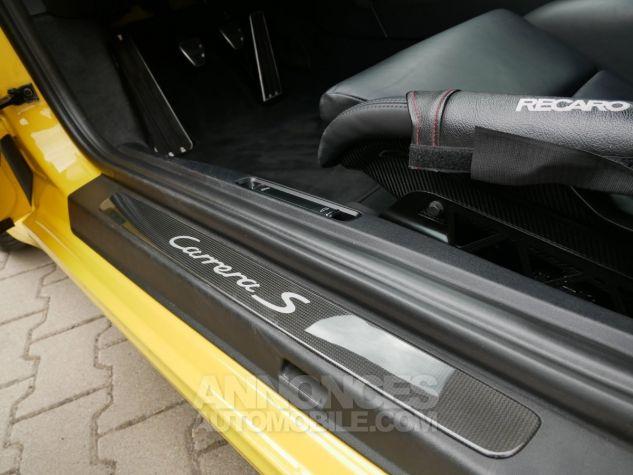 Porsche 991 911 Carrera S, Chrono, LED, Carbone, PDCC, PCCB Jaune Racing Occasion - 13