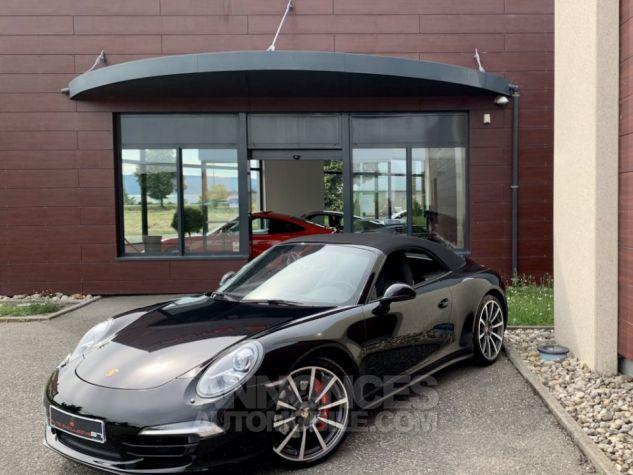Porsche 991 911 type 991 CARRERA 4S CABRIOLET BVM7 FULL Noir métallisé Occasion - 3