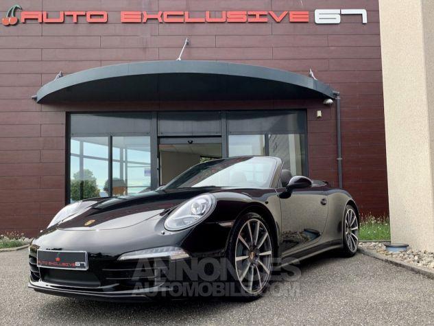 Porsche 991 911 type 991 CARRERA 4S CABRIOLET BVM7 FULL Noir métallisé Occasion - 6