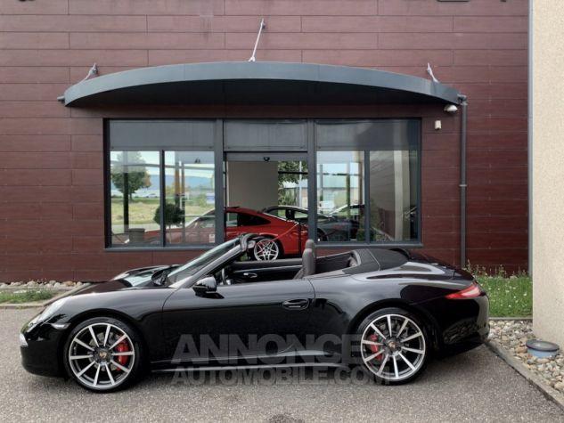 Porsche 991 911 type 991 CARRERA 4S CABRIOLET BVM7 FULL Noir métallisé Occasion - 7