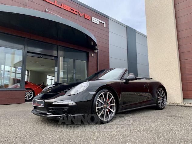 Porsche 991 911 type 991 CARRERA 4S CABRIOLET BVM7 FULL Noir métallisé Occasion - 10