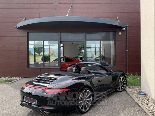 Porsche 991 911 type 991 CARRERA 4S CABRIOLET BVM7 FULL Noir métallisé Occasion - 11